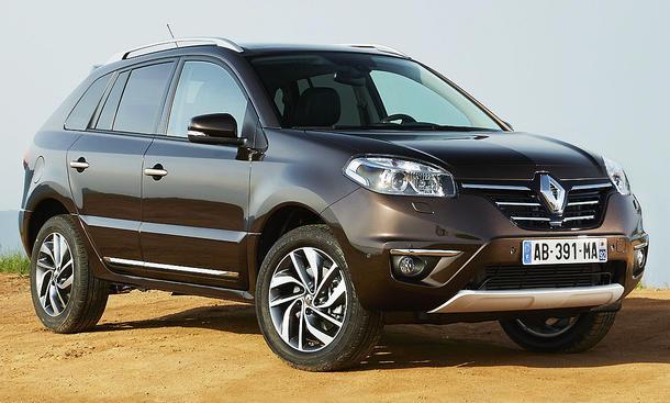 Renault Koleos Facelift 2013