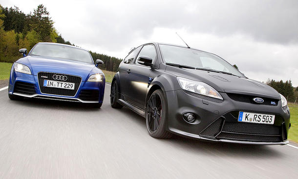 Audi TT RS/Ford Focus RS500
