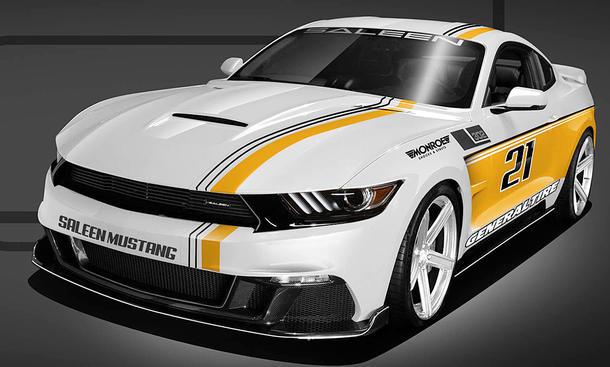 Ford Mustang Gt Tuning Von Saleen Autozeitung De