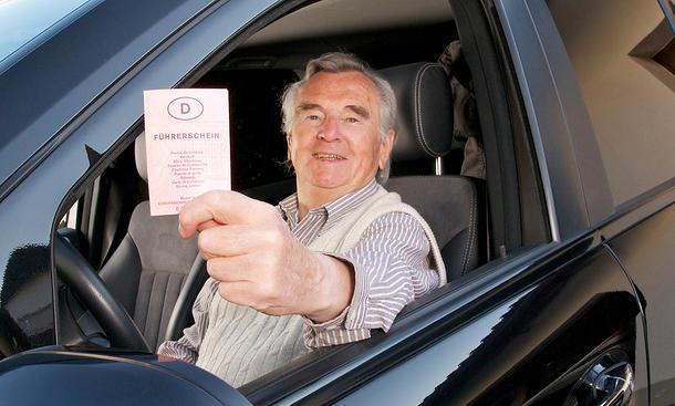 Senioren-Fahrtest ab 75