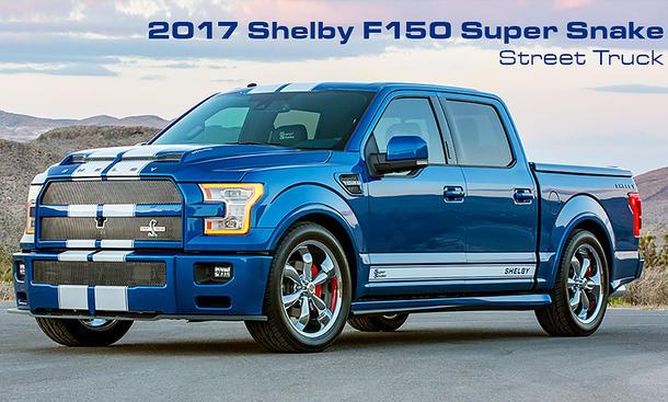 Shelby Ford F 150 Super Snake Sondermodell