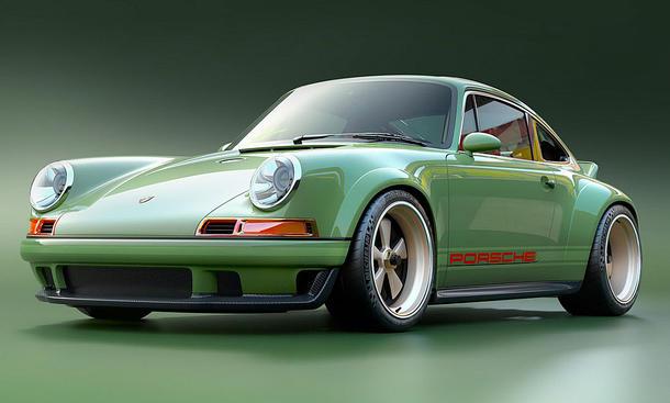 Porsche 911 von Singer, Williams und Mezger