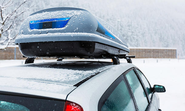 Ski-Transport mit dem Auto