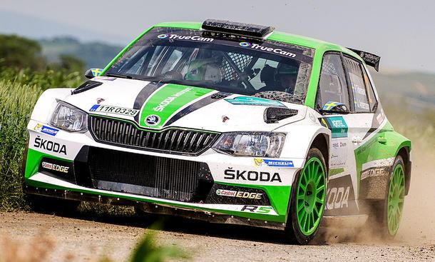 Skoda Fabia R5 2015 Erste Fotos Autozeitung De