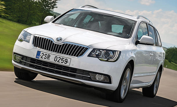 Skoda Superb II (2008)