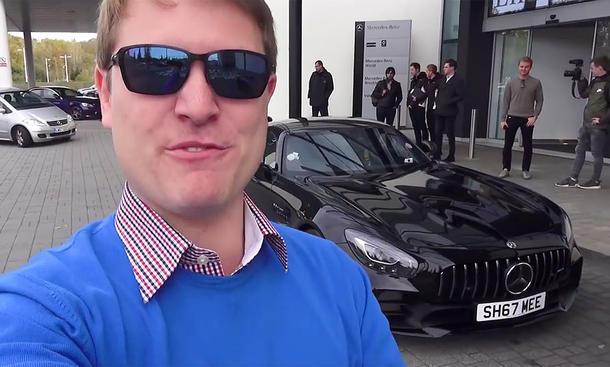 Shmee150 kauft Mercedes-AMG GT R