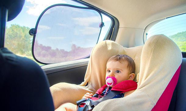 Sonnenschutz fürs Auto