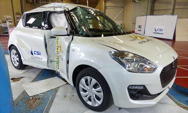 Suzuki Swift im Crashtest