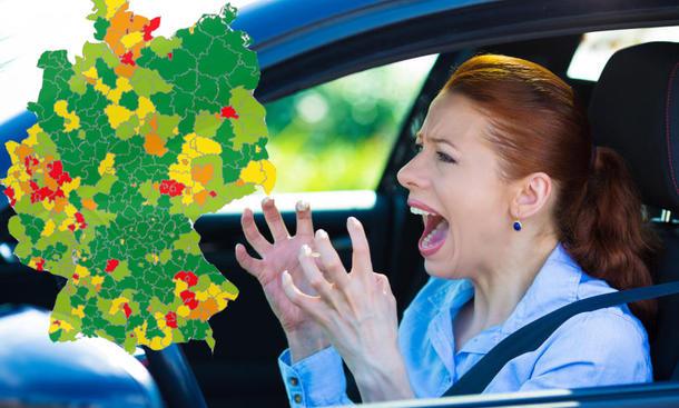 Deutschlands beste Autofahrer: Studie