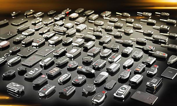 Neue Generation von Autoschlüssel
