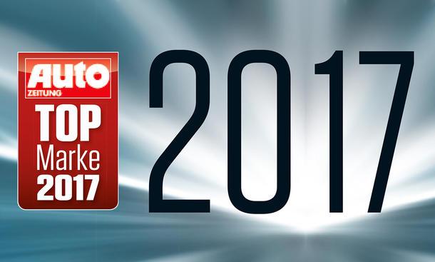 Top-Marken der AUTO ZEITUNG-Leserwahl 2017