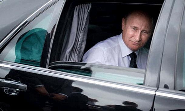 Vladimir Putins Mercedes-Benz S 600 Pullman