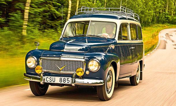 Volvo PV 445 Duett: Classic Cars