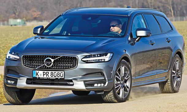 Der Volvo V90 Cross Country im Einzeltest