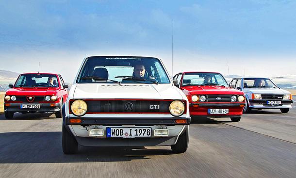 Golf GTI/Kadett/Escort/Alfasud: Classic Cars