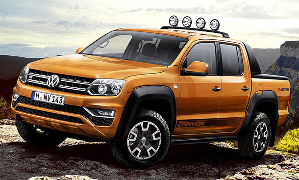 VW Amarok Canyon (2017)
