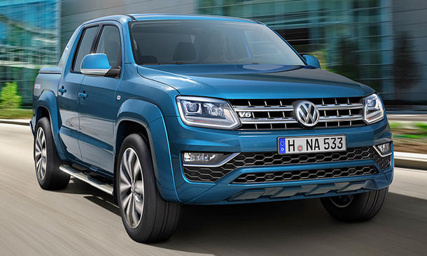 VW Amarok Facelift (2016)