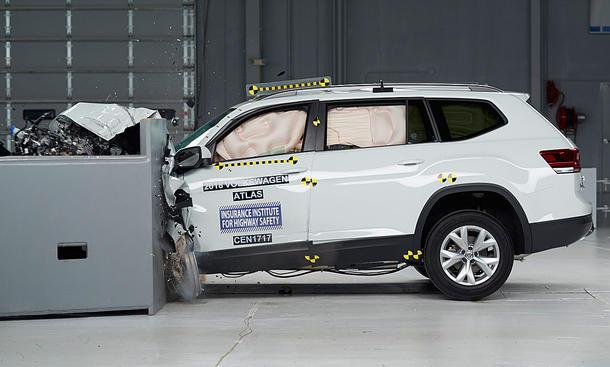 VW Atlas (2017) im Crashtest