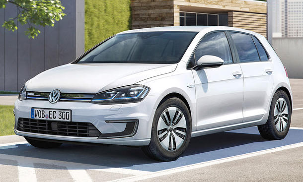 VW e-Golf Facelift (2017)