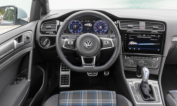 VW Golf GTE Facelift