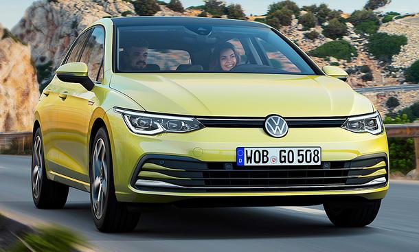 VW Golf 8 (2019)
