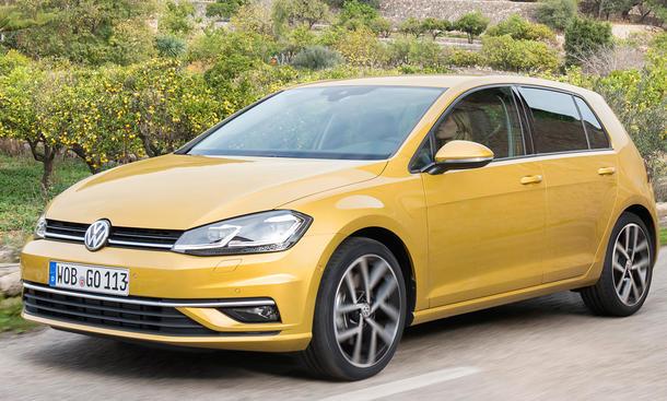 VW Golf Facelift