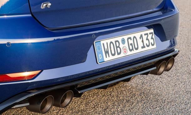 Vw Golf 7 R Facelift 2017 Preis Und Motor Update Autozeitungde