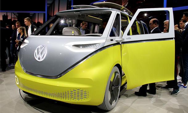 VW Bus 2017 >> VW I.D. Buzz (2022): Bulli-Nachfolger kommt (Update ...