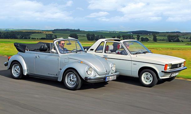 VW Käfer Cabrio/Opel Kadett Aero: Classic Cars