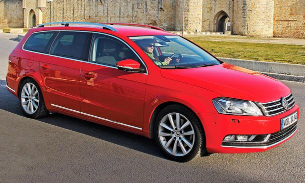 vw passat variant 2 0 tdi b7 dauertest. Black Bedroom Furniture Sets. Home Design Ideas