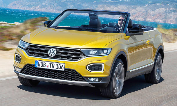 vw t roc cabrio 2020 preis erstes foto. Black Bedroom Furniture Sets. Home Design Ideas