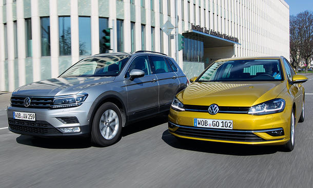 VW Tiguan/VW Golf