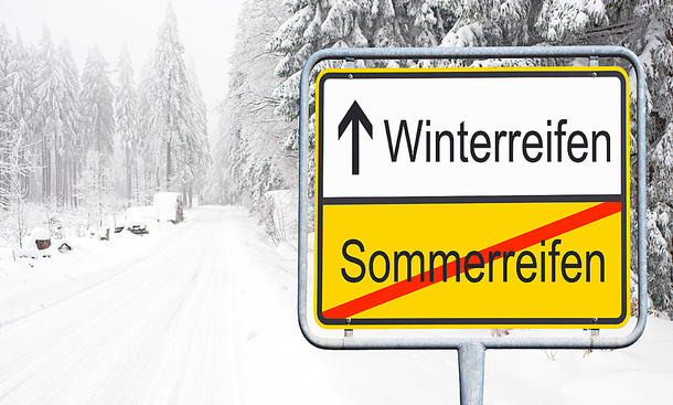 Winterreifen vs Sommerreifen