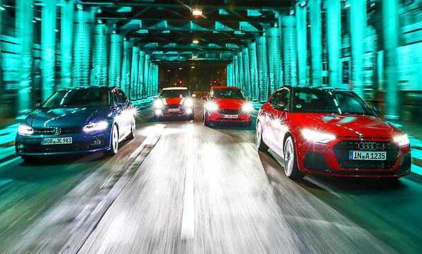 Audi A1/Ford Fiesta/Mini Cooper/VW Polo: Test