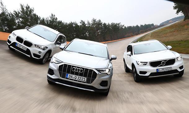 Audi Q3/BMW X1/Volvo XC40