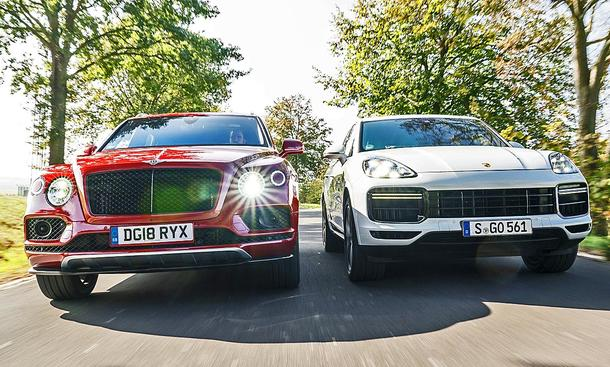 Bentley Bentayga/Porsche Cayenne Turbo: Test