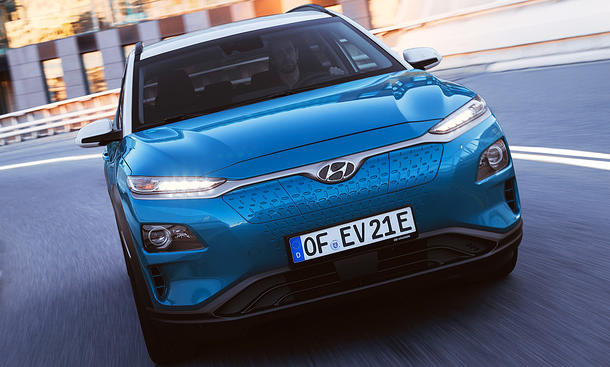 Hyundai Kona Elektro: Test