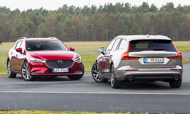 Mazda6 Kombi/Volvo V60