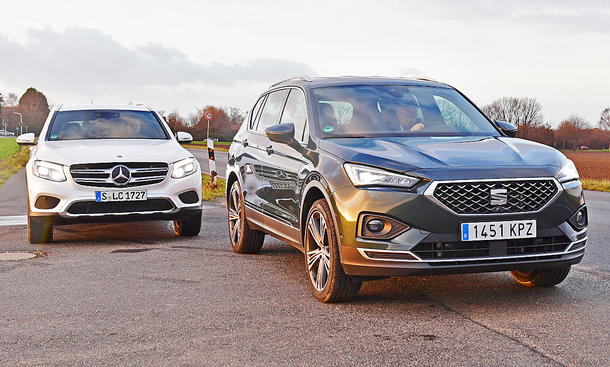 Mercedes GLC/Seat Tarraco: Test