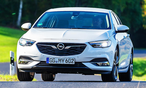 Opel Insignia Grand Sport: Test