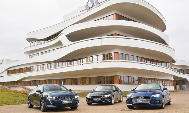 Audi A5/BMW 4er/Peugeot 508
