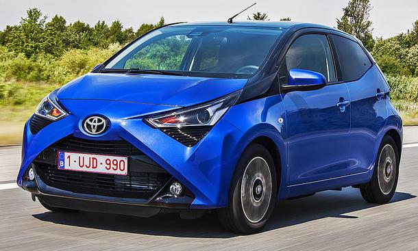Toyota Aygo Facelift: Test