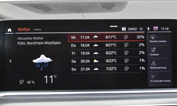 BMW X5 xDrive40i: Connectivity