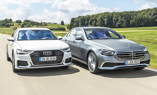 Audi A6/Mercedes E-Klasse Facelift