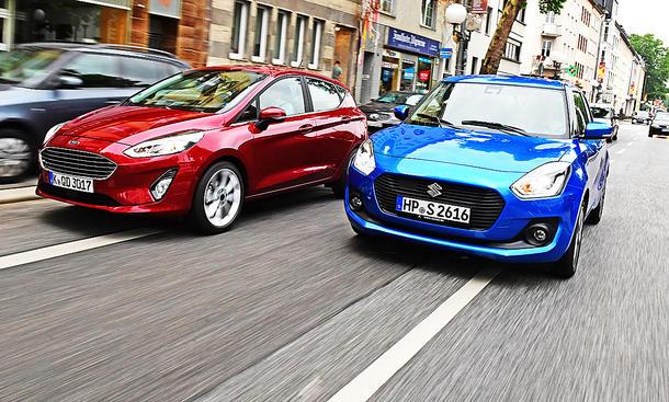 Ford Fiesta 1.0 EcoBoost/Suzuki Swift 1.0 Boosterjet Hybrid