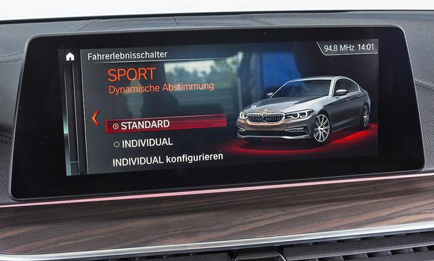 BMW 520d: Connectivity