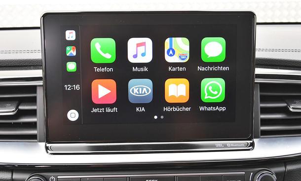 Kia ProCeed 1.4 T-GDI: Connectivity