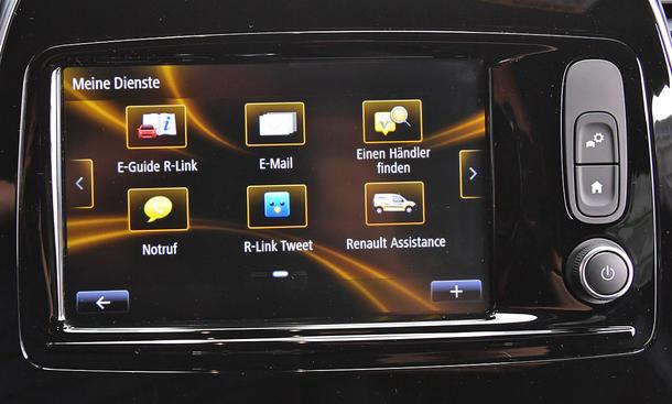 Renault Captur: Connectivity