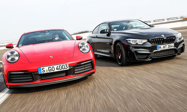 Porsche 911 Carrera S/BMW M4 Competition