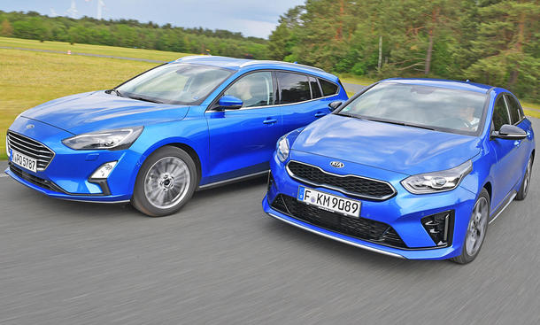 Ford Focus Turnier 1.5 EcoBoost/Kia ProCeed 1.4 T-GDI